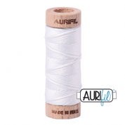 Aurifloss - 6-strand cotton floss - 2024 (White)